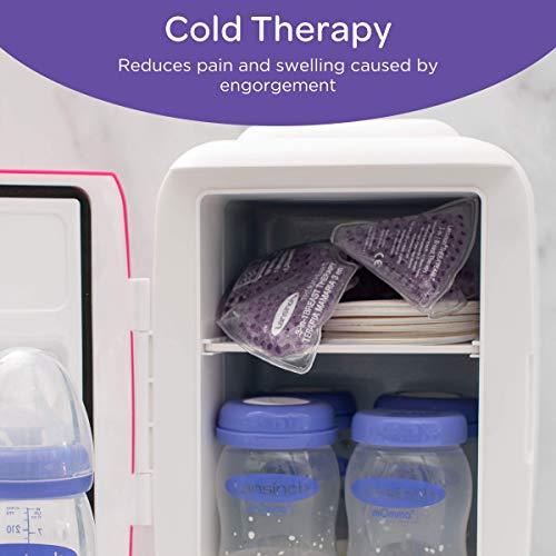 Bolsa Alívio Terapêutico (Frio e Quente) do Seio na Amamentação Lansinoh - 2 Unidades