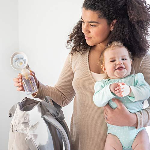 Bomba Tira Leite Manual Harmony 150ml Inclui Protetor de Mama 24mm  Medela
