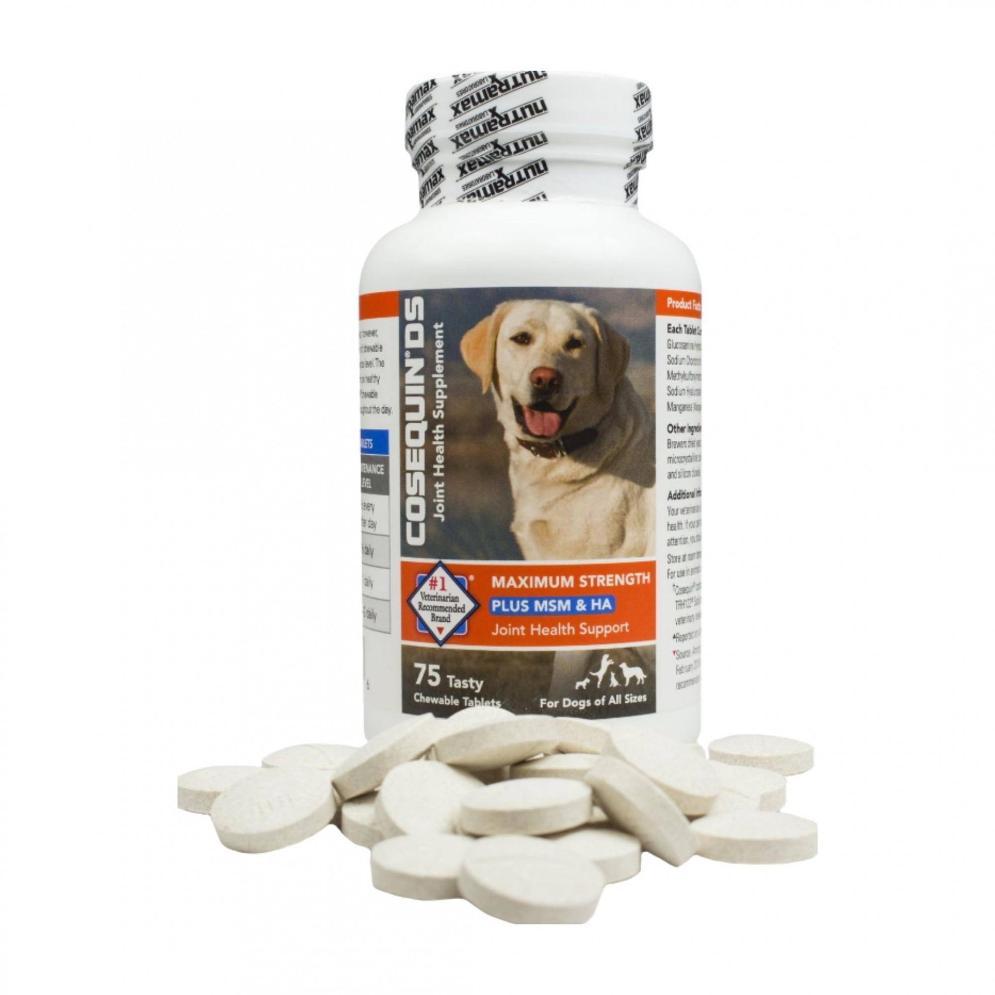 Cães Suplemento Cosequin DS Plus Nutramax - 75 Cápsulas