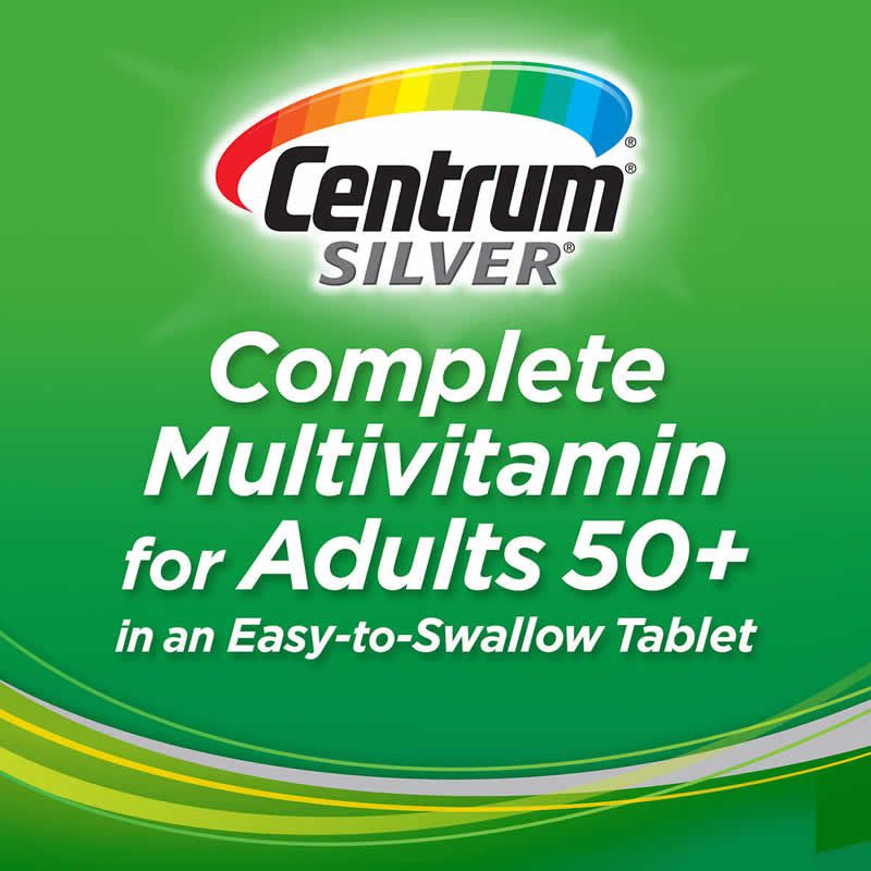 Centrum Adult Silver Adulto Acima de 50 Anos - 250 Cápsulas