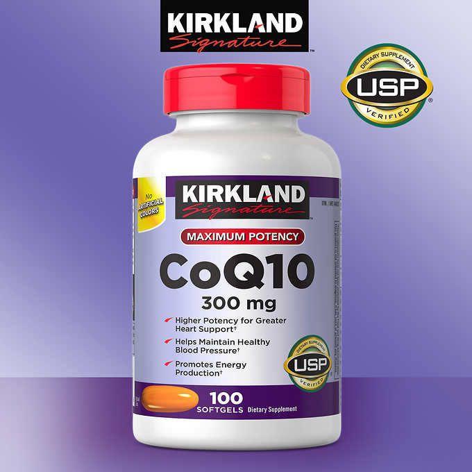 Coenzima Q10 300mg - 100 Softgels