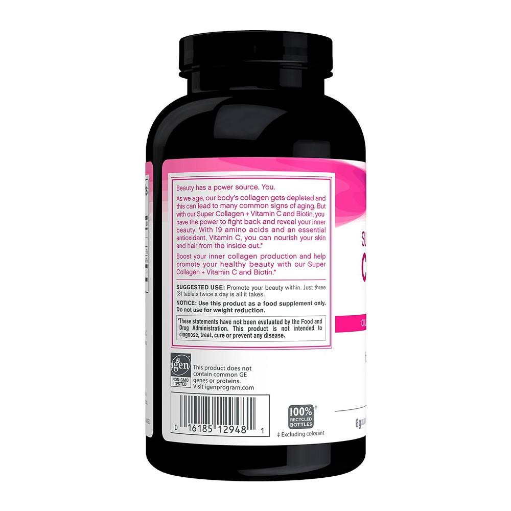 Colágeno Com Vitamina C e Biotin Neocell Â- 360 Tabletes
