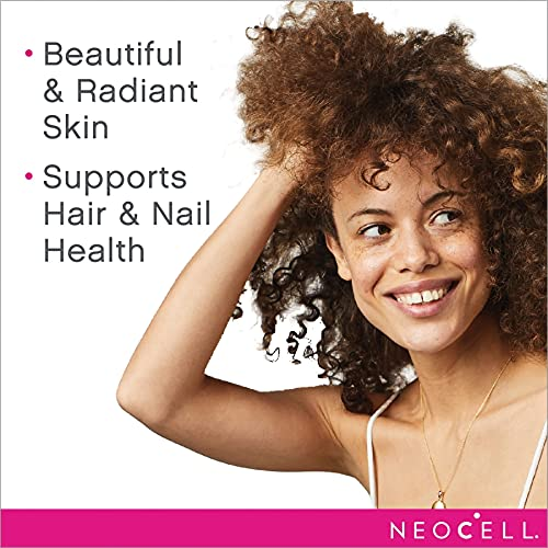 Colageno Tipo 1 & 3 com Vitamina C para Cabelo, Pele e Unha Neocell - 360 Tabletes