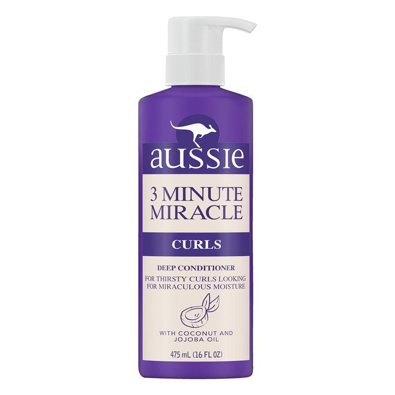 Condicionador Aussie 3 Minute Miracle Curls Deep para Cabelos Cacheados - 475ml