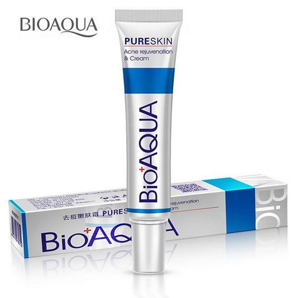 Creme Bioaqua Pure Skin Para Acne Espinhas Cravos Manchas e Melasma