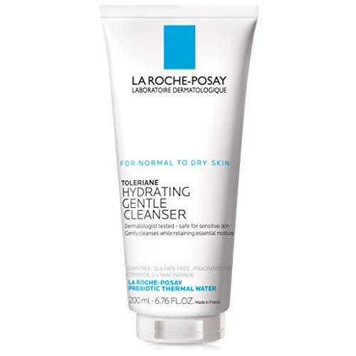 Creme Limpeza & Hidratante Facial  Ceramida-3, Niacinamida & Glicerina La Roche-Posay Toleriane - 200ml