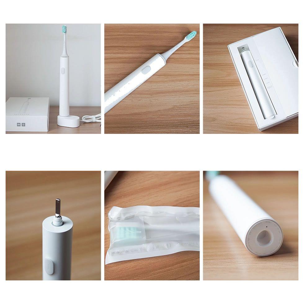 Escova De Dentes Elétrica Xiaomi Motor Sônico 3 Velocidades