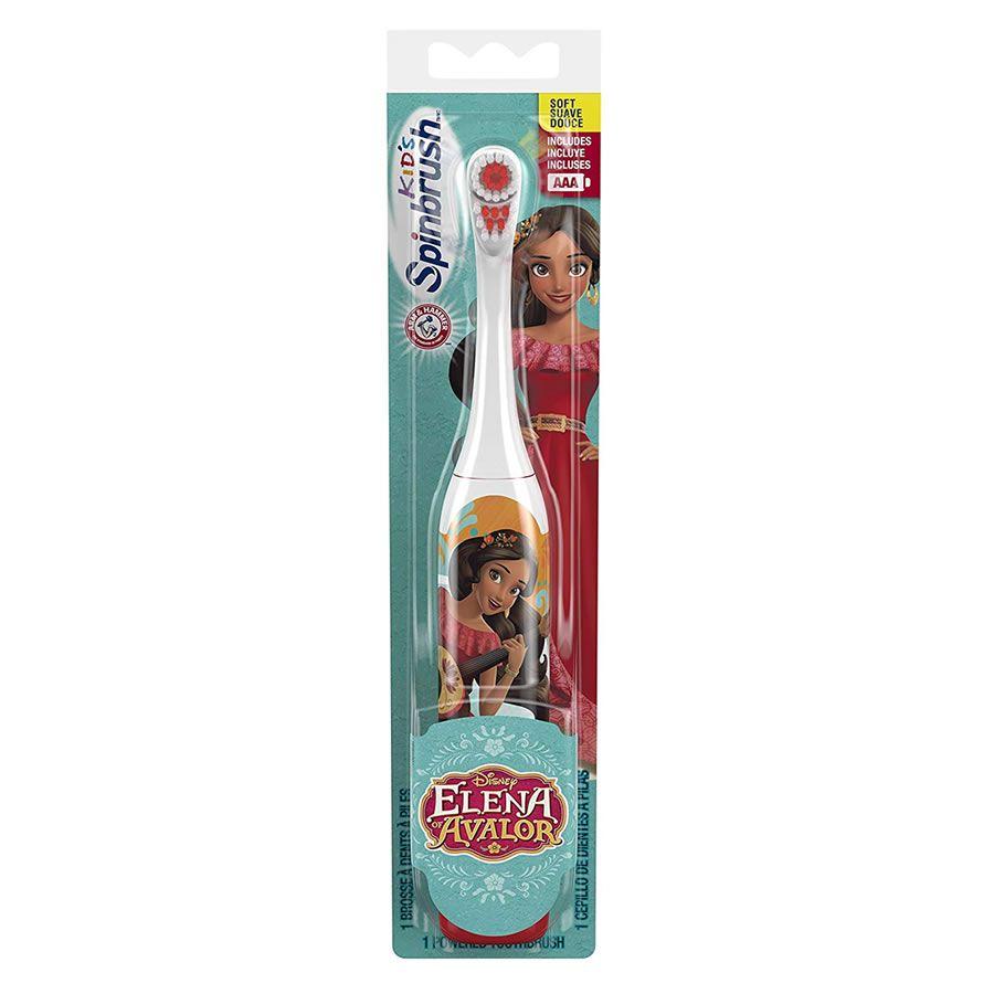 Escova Dental Elétrica Infantil Spinbrush Princesa Helena - Cabeça Dupla