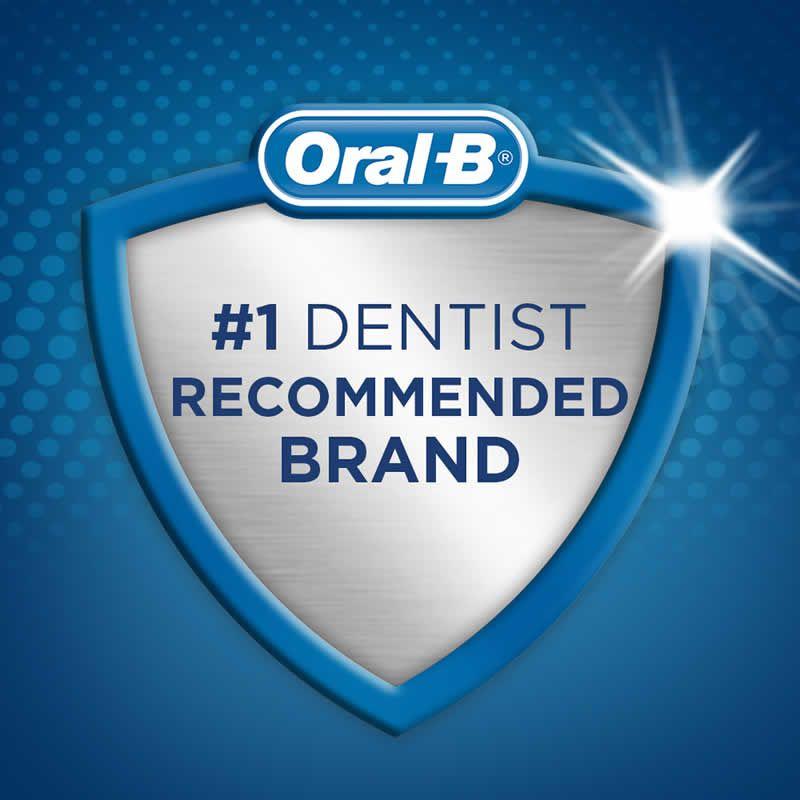 Escova Dental Oral-B Cross Remove 96% as Placas Costco Americano Média - Kit 8