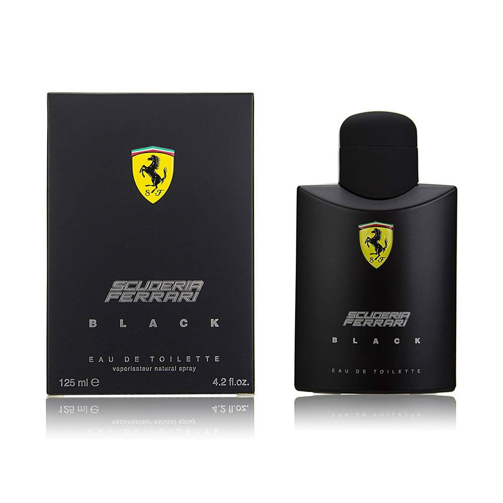 Ferrari Black Eau De Toilette Spray Scuderia Ferrari - 125ml