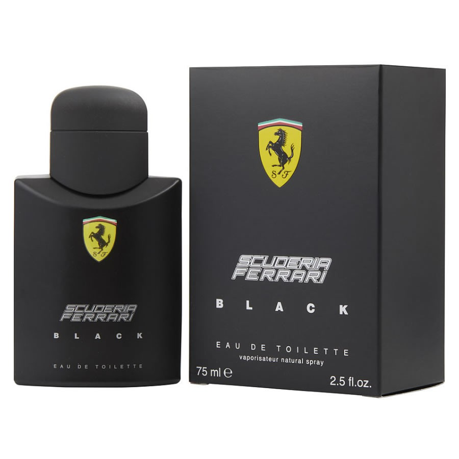 Ferrari Black Eau De Toilette Spray Scuderia Ferrari - 75ml