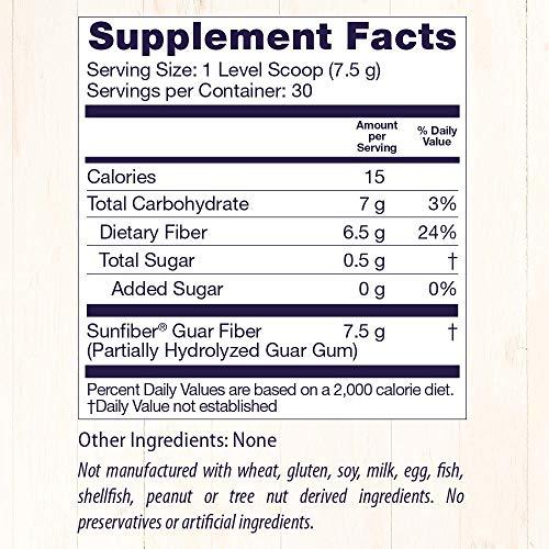 Fibra Natural Non-GMO Healthy Origins - 225 Gramas (7.9 oz)