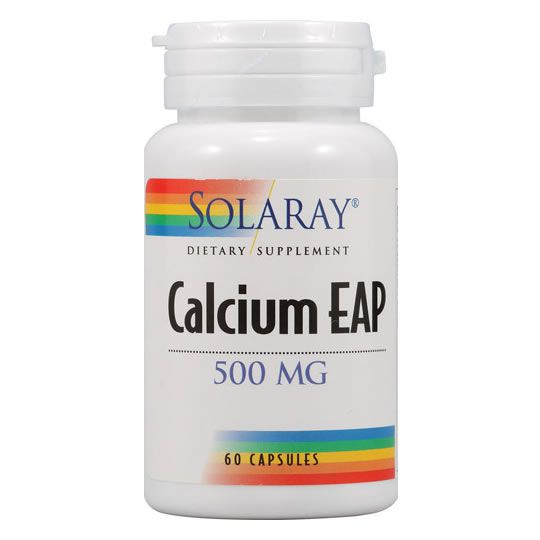 Fosfoetanolamina Calcium Eap 500mg Solaray 60 Caps