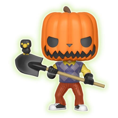 Funko POP Hello Neighbor,  Neighbor Pumpkinhead #266