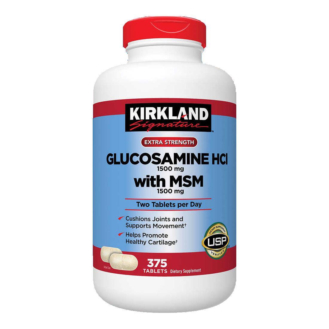 Glucosamina 1500mg - 375 Tabletes