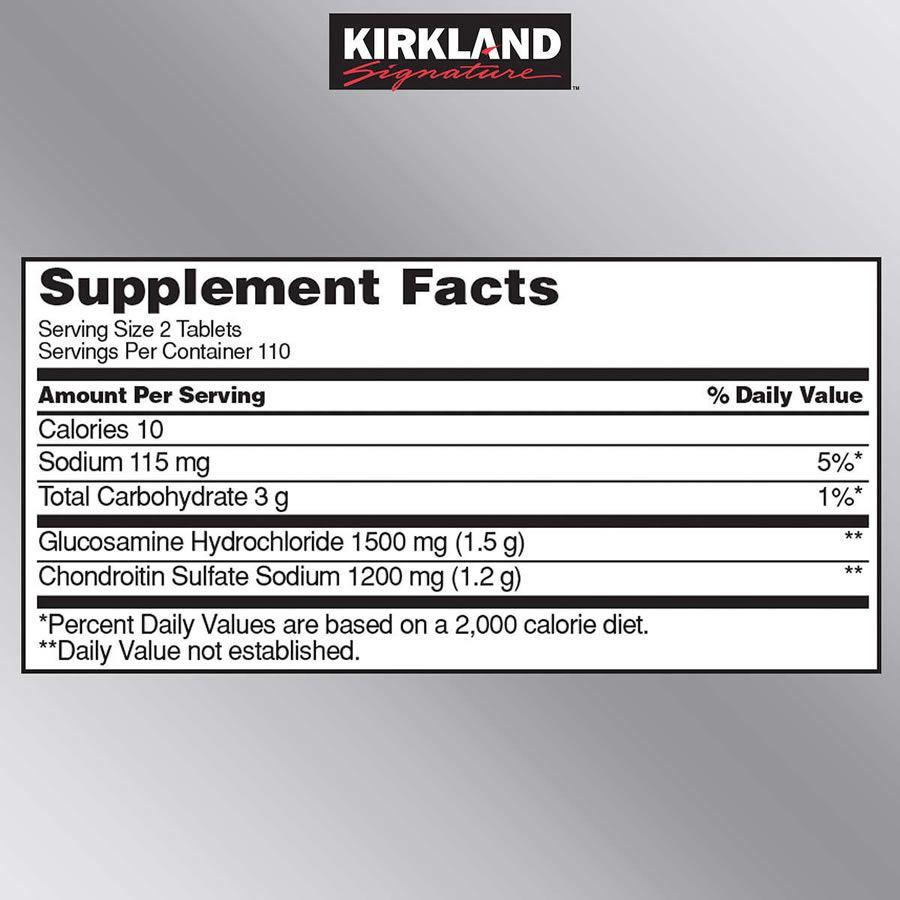 Glucosamina 1500mg - 220 Tabletes