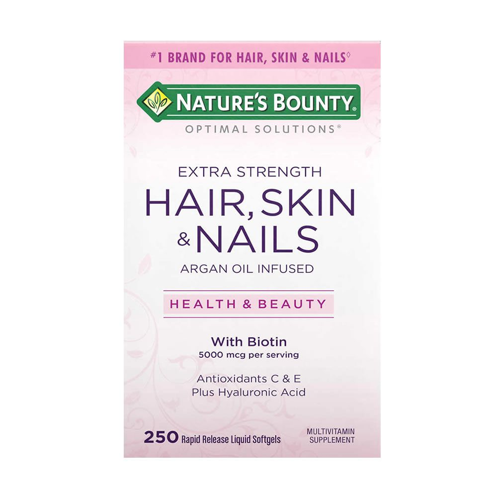 Hair, Skin & Nails da Natures Bounty - 250 Softgels