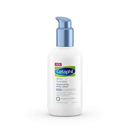 Loção Corporal Hidratante  para Pele Sensivel Seca com Acido Hialurônico Vitamina E & B5 Cetaphil - 236ml