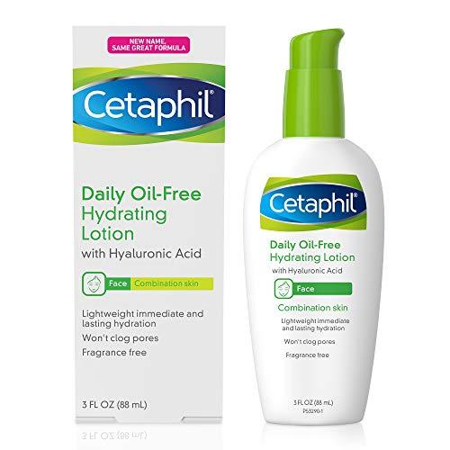 Loção Hidratante Facial Diaria sem Oleo com Acido Hialurônico Cetaphil - 88ml