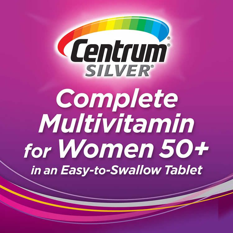 Multivitamínico Centrum Silver Women 50+ para Mulheres - 250 Tabletes