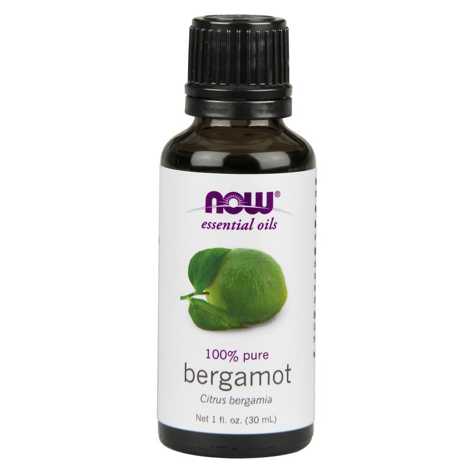 Óleo Essencial Bergamota (Bergamot) Now Food - 30ml
