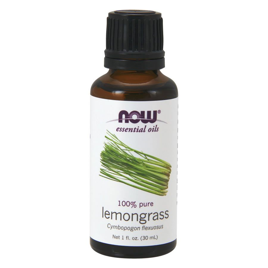 Óleo Essencial Capim Limão (Lemongrass) Now Food - 30ml