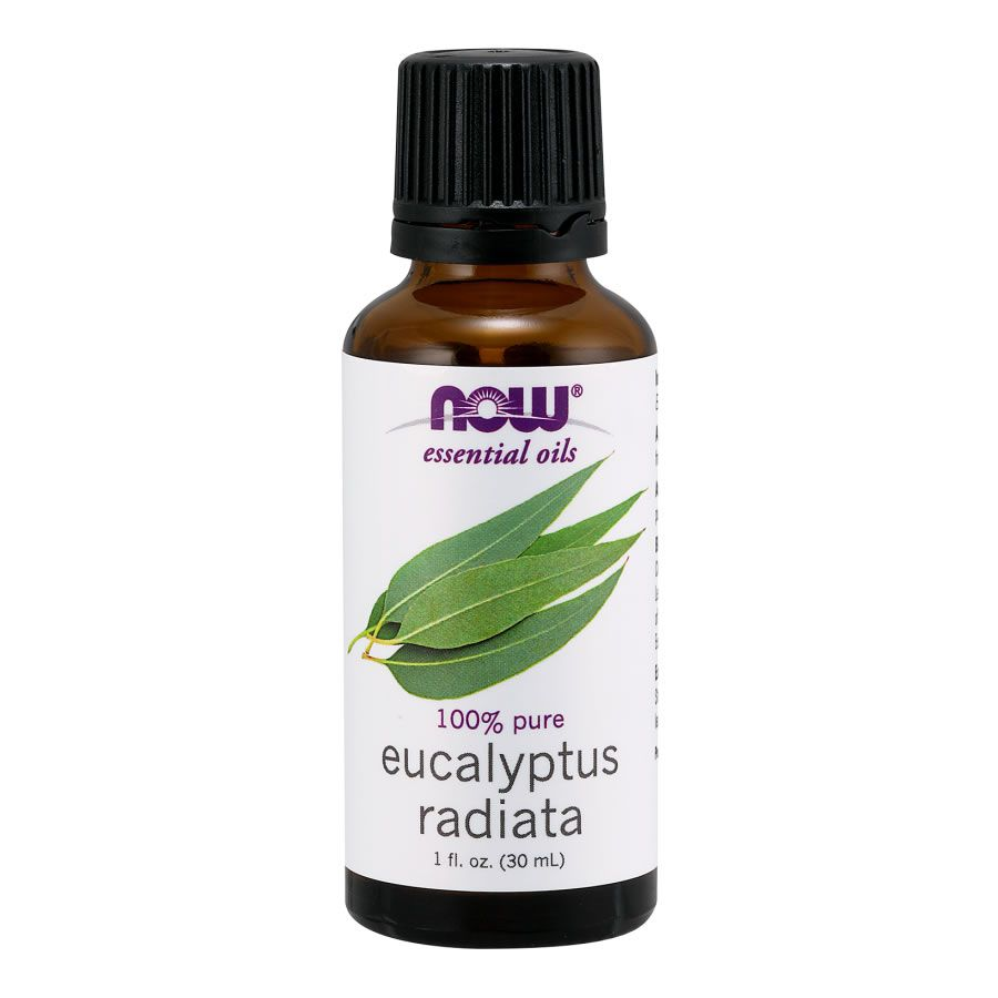 Óleo Essencial Eucalipto Radiata (Eucalyptus Radiada) Now Food - 30ml