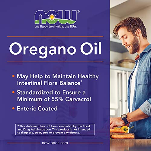 Oregano Oil with Ginger and Fennel Now Foods - 90 Softgels