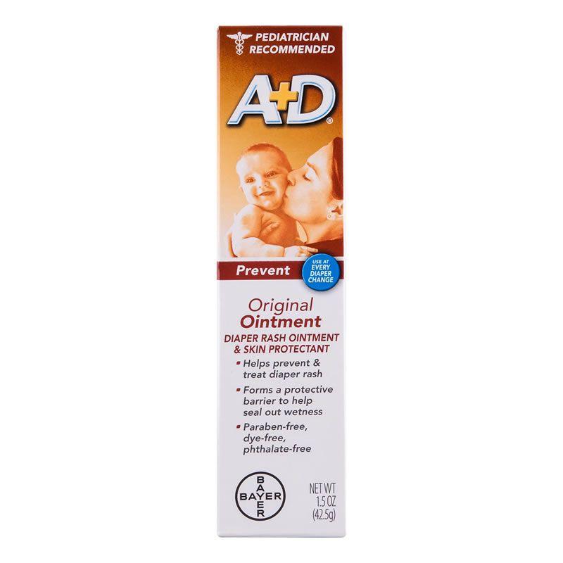 Pomada para assadura A+D Oxido de Zinco Ação Preventiva para Bebê - 113g