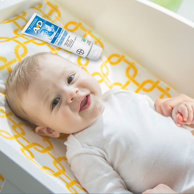 Pomada A+D Oxido de Zinco para Bebê – 113g