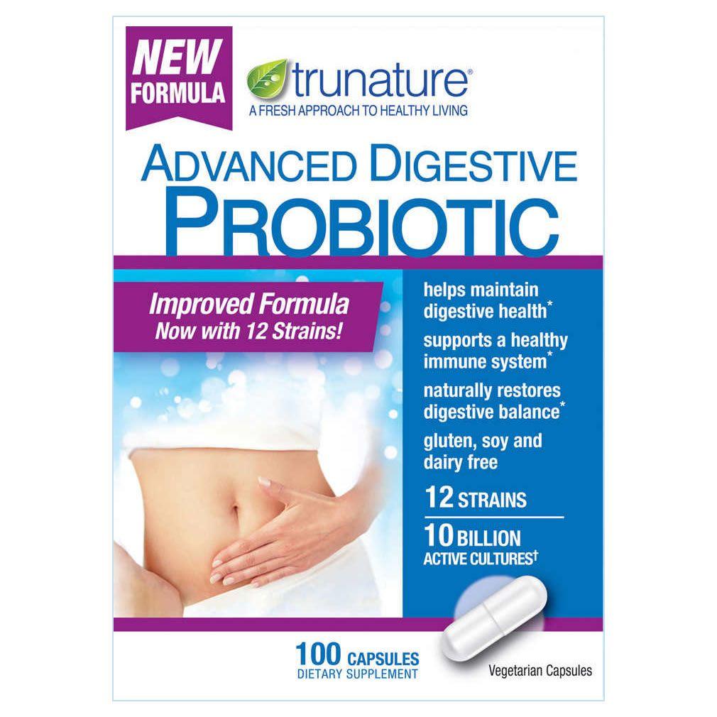 Probiótico Avançado 10 Bilhões Trunature – 100 Cápsulas