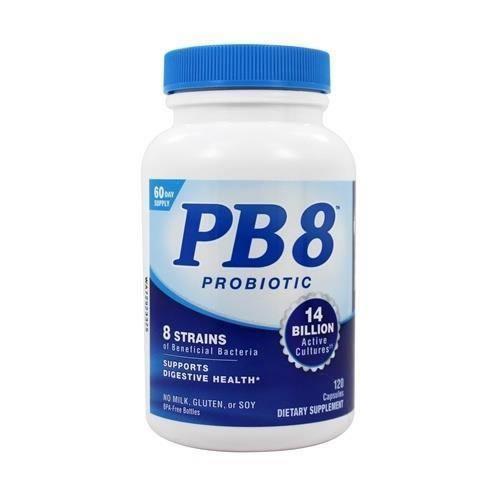 Probiótico PB8 14 Bilhões Nutrition Now - 120 Cápsulas