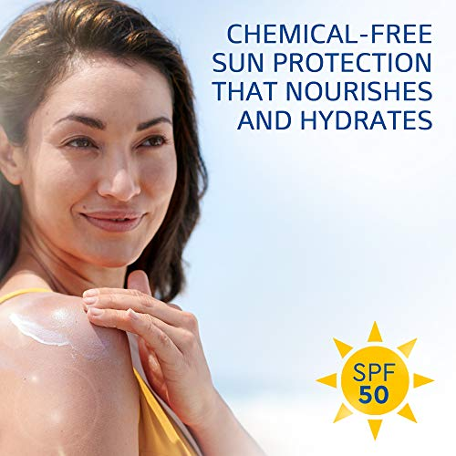 Protetor Solar Hidratante SPF 50 Transparente para Rosto e Corpo Pele Sensivel Cetaphil - 89ml