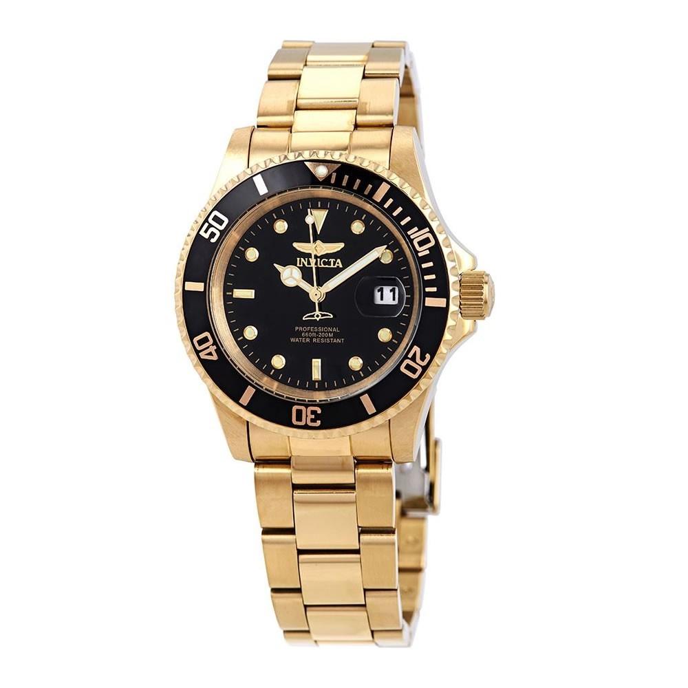 Relógio Masculino Invicta 26975 Pro Diver - Dourado