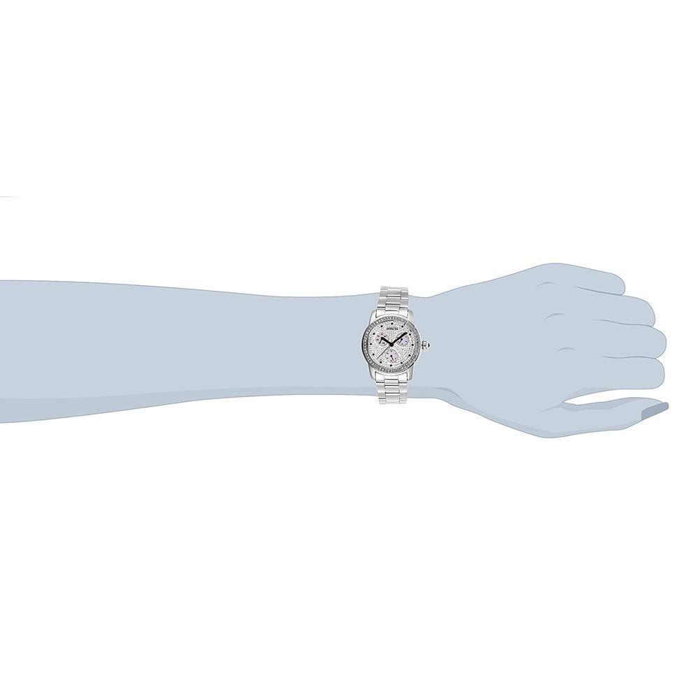 Relógio Feminino Invicta Angel Modelo 28466 com Cristais - Aço Inoxidável