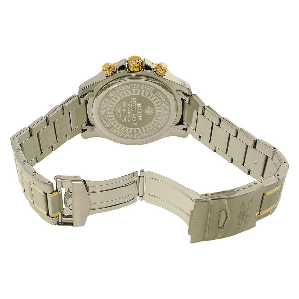 Relógio Masculino Invicta Modelo 14876 - Inox e Dourado
