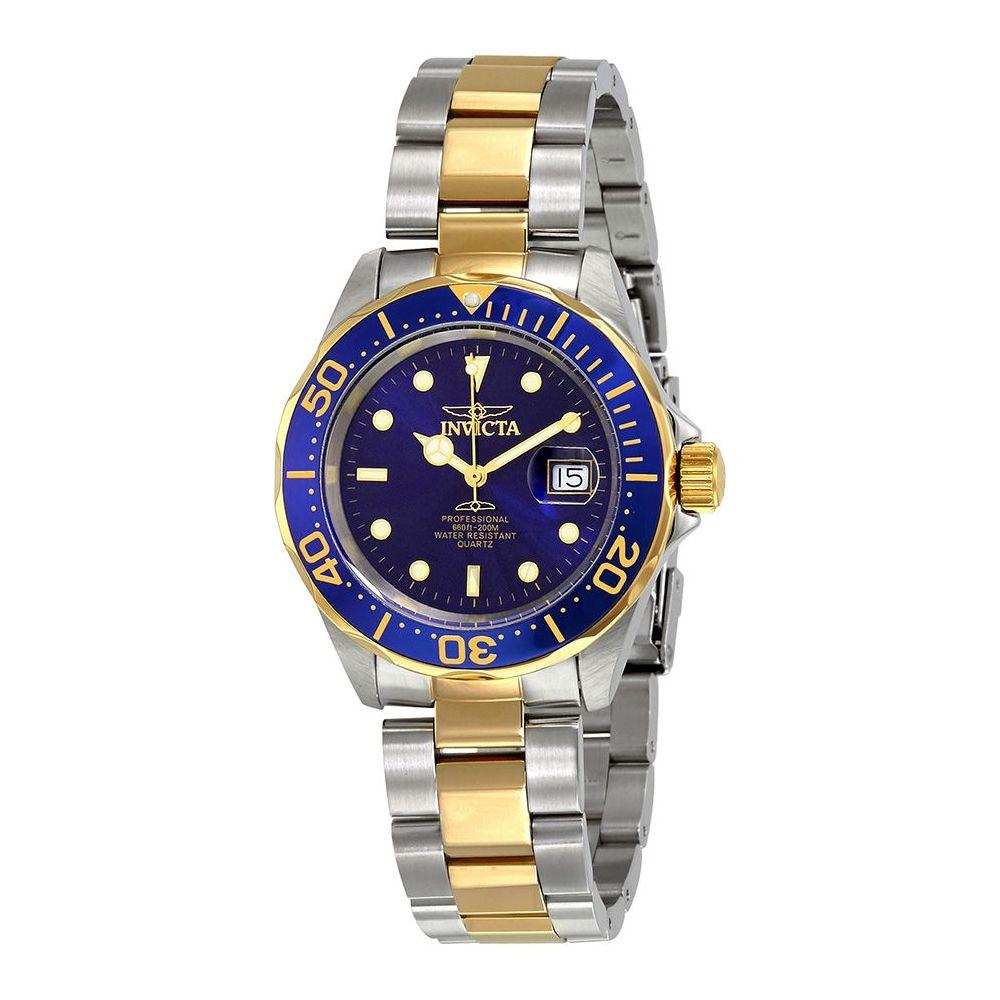 Relógio Masculino Invicta Modelo 9310 - Prateado com Dourado