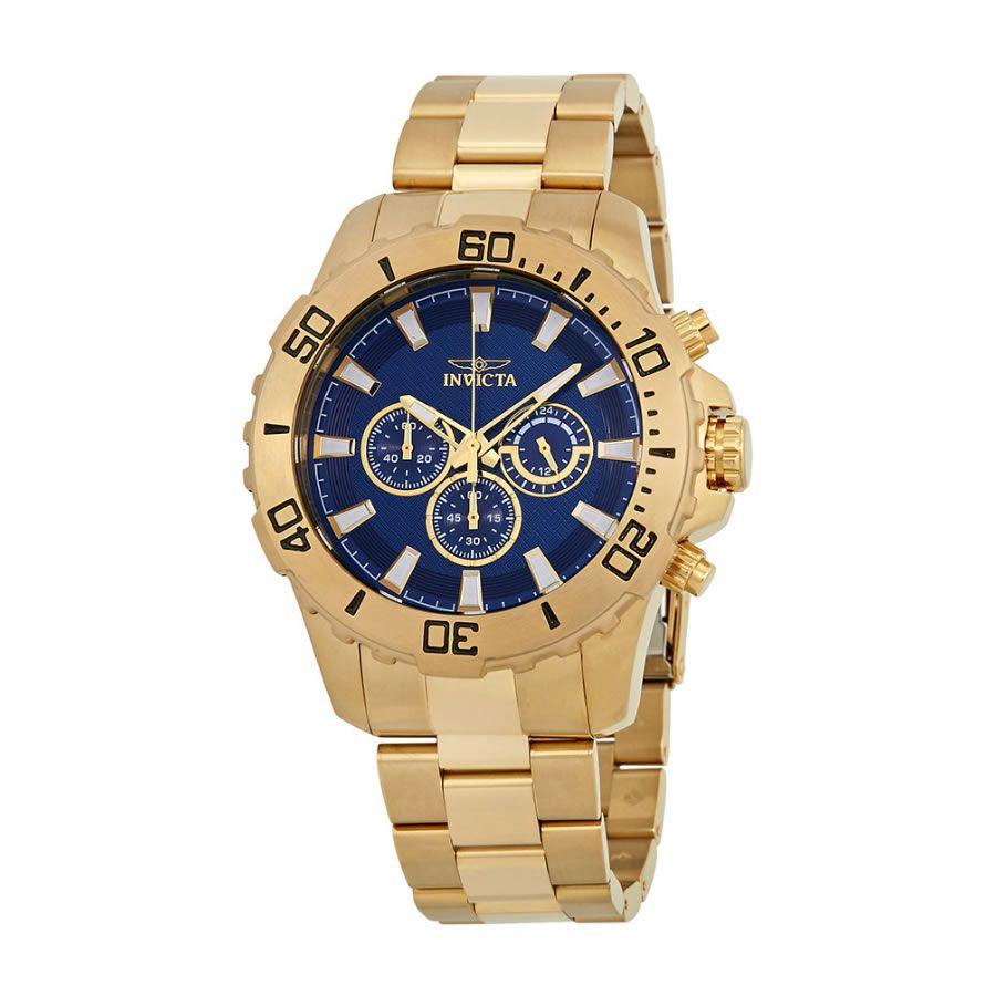 Relógio Masculino Invicta Pro Diver Modelo 22544 – Dourado