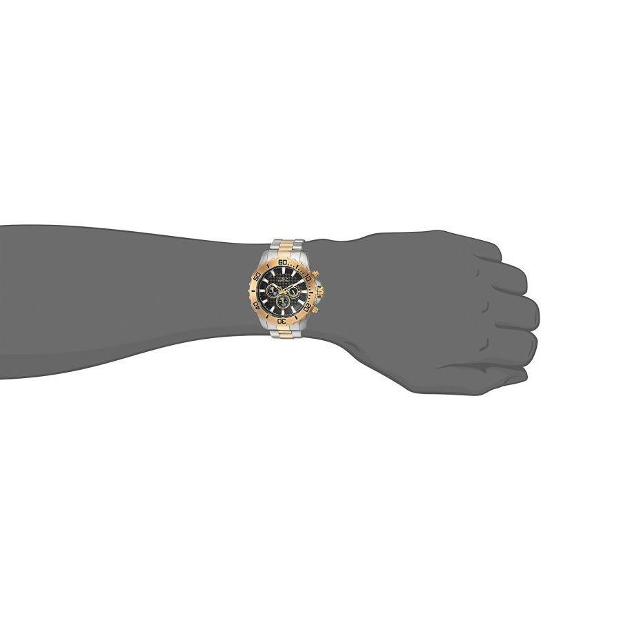 Relógio Masculino Invicta Pro Diver Modelo 22545 – Aço Inoxidável e Dourado