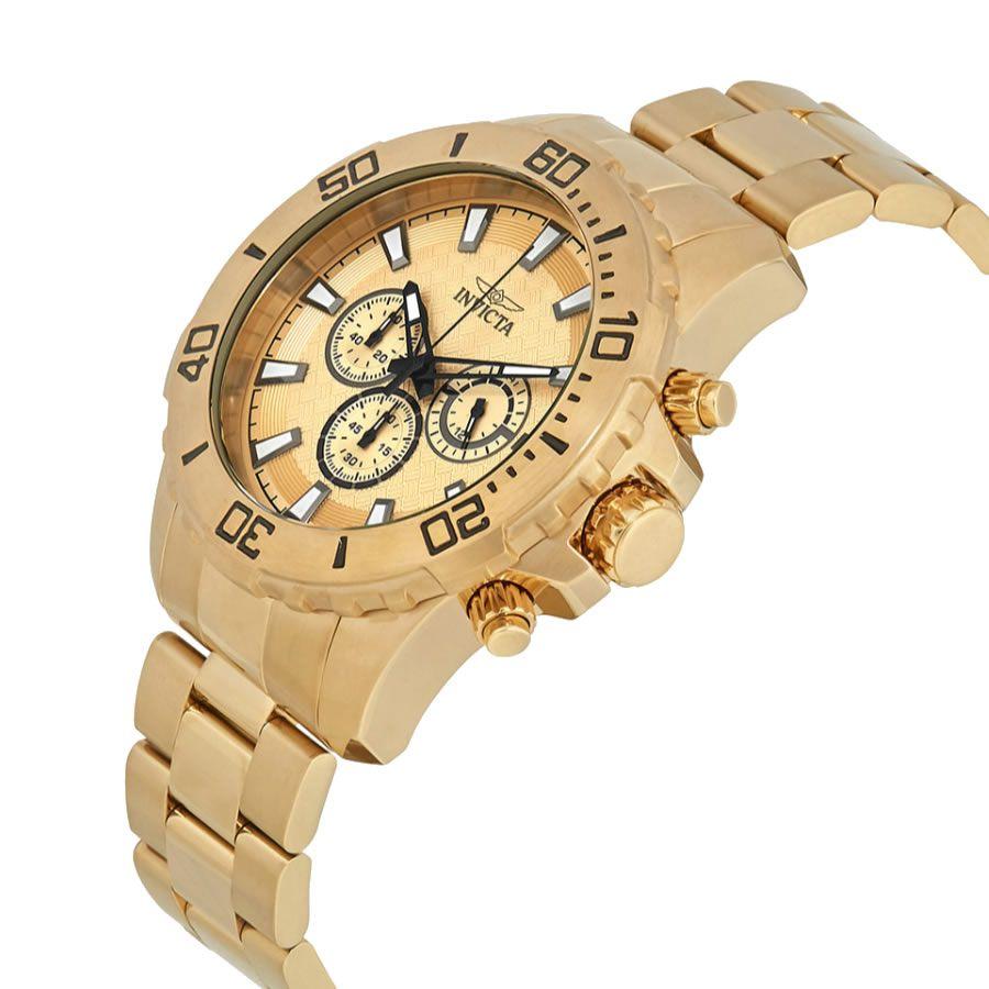 Relógio Masculino Invicta Pro Diver Modelo 22547 – Dourado