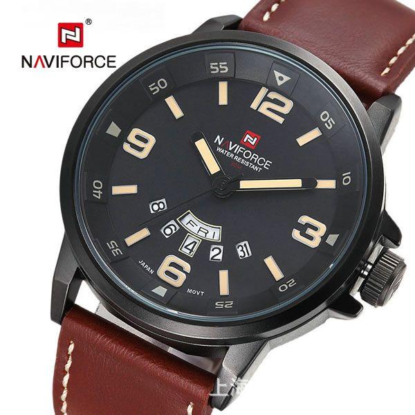 9360c1e37b0 Relógio Masculino Naviforce 9028 - Marron