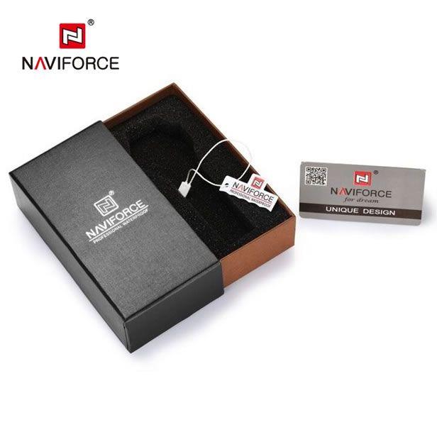 Relógio Masculino Naviforce 9085 em aço