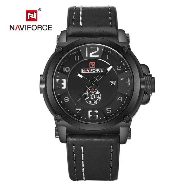 Relógio Masculino Naviforce Modelo NF9099 - Preto