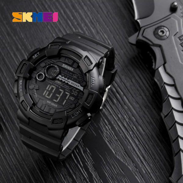 Relógio Masculino Skmei 1243 Esportivo Militar Shock