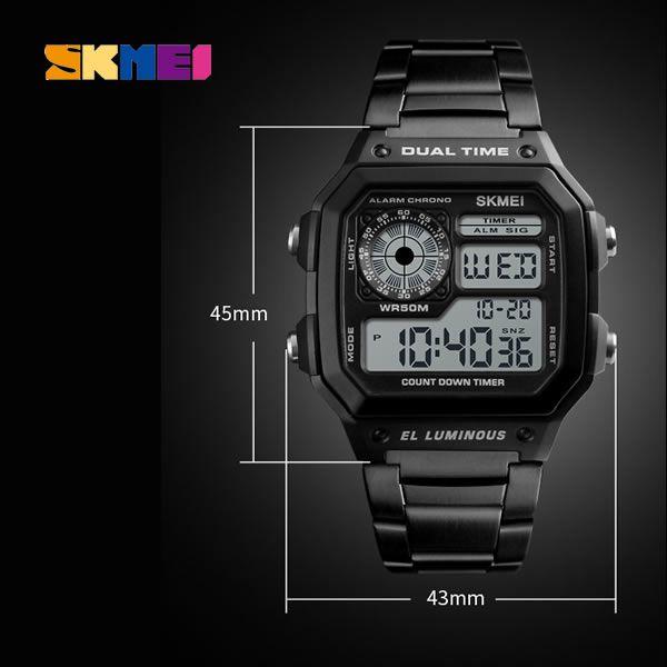 Relógio Masculino SKMEI 1335 Digital à Prova D'água Original