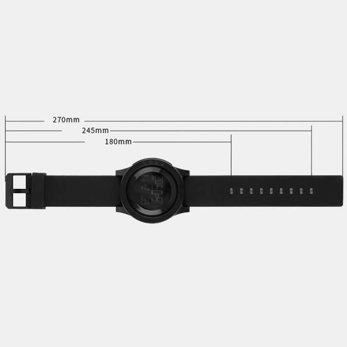 Relógio Masculino Skmei Modelo 1142 À Prova Dágua - Preto E Verde