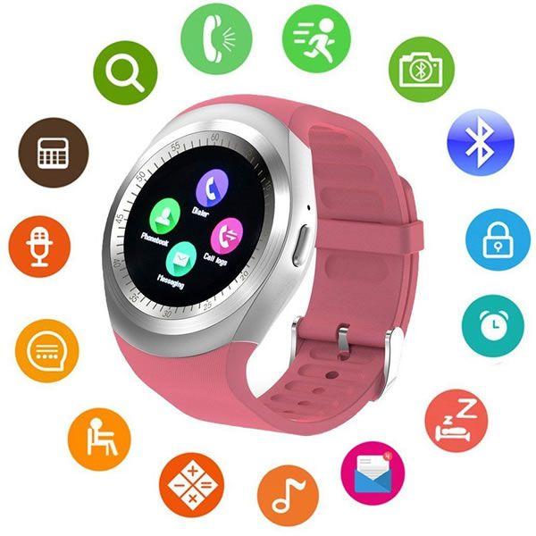 Relógio SMARTWATCH Y1 Inteligente Bluetooth Android & IOS
