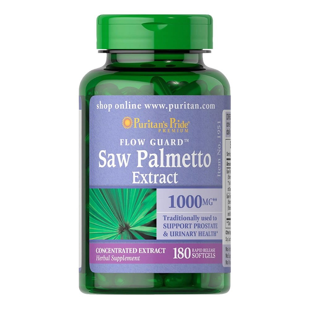 Saw Palmetto Extrato 250mg 1000mg Â- 180 Softgels