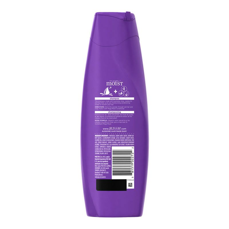 Shampoo Aussie Mega Moist - 400ml