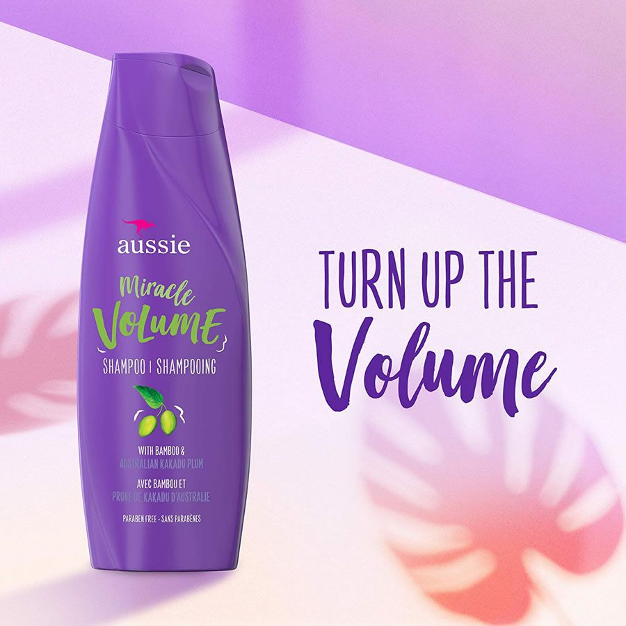 Shampoo Aussie Miracle Volume - 360ml